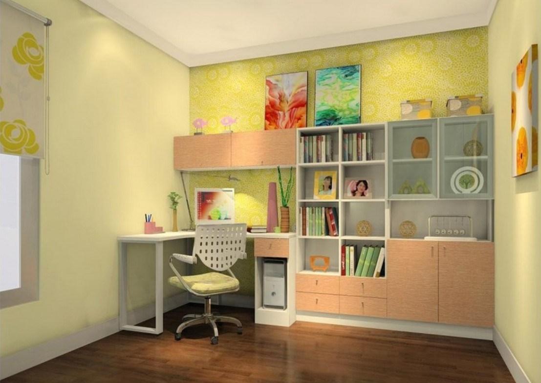 Desain Ruang Belajar Anak dengan Suasana Nyaman » Inspirasi Desain Ruang Kerja Dan Belajar untuk Rumah Anda