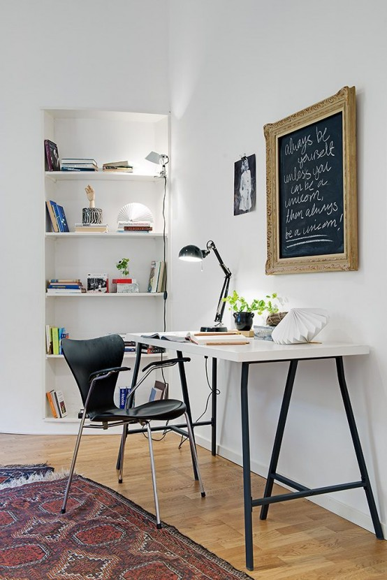 Desain Ruang Kerja Pribadi 3 » Inspirasi Desain Ruang Kerja Dan Belajar untuk Rumah Anda
