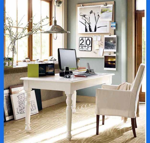 Desain Ruang Kerja Pribadi dengan Kursi Nyaman » Inspirasi Desain Ruang Kerja Dan Belajar untuk Rumah Anda