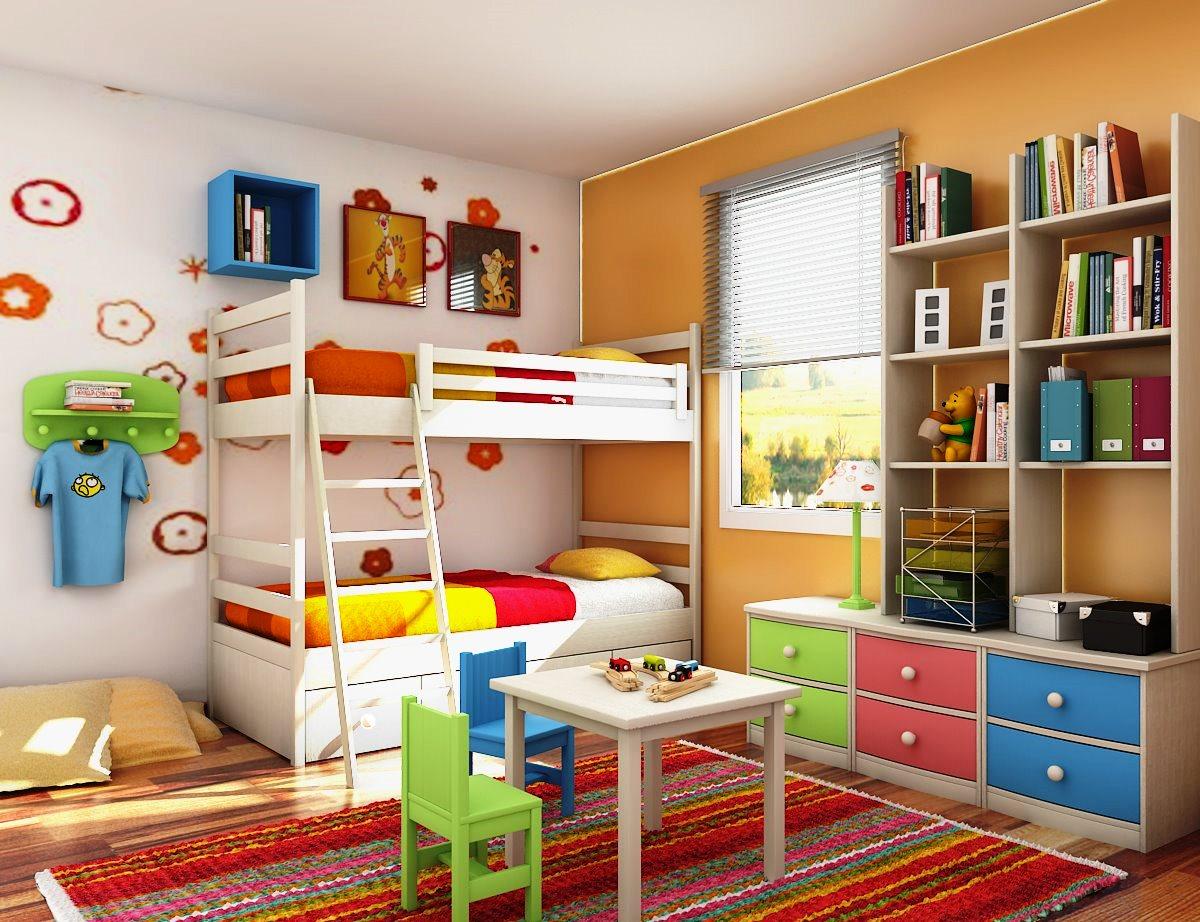Desain kamar anak laki laki yang ideal1 - Desain Kamar Tidur Anak Laki-Laki yang Ideal