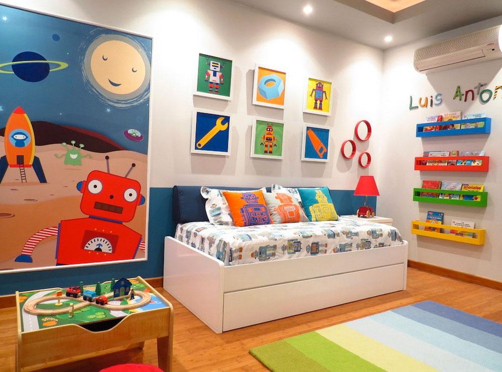 Desain kamar anak laki laki yang ideal4 - Desain Kamar Tidur Anak Laki-Laki yang Ideal