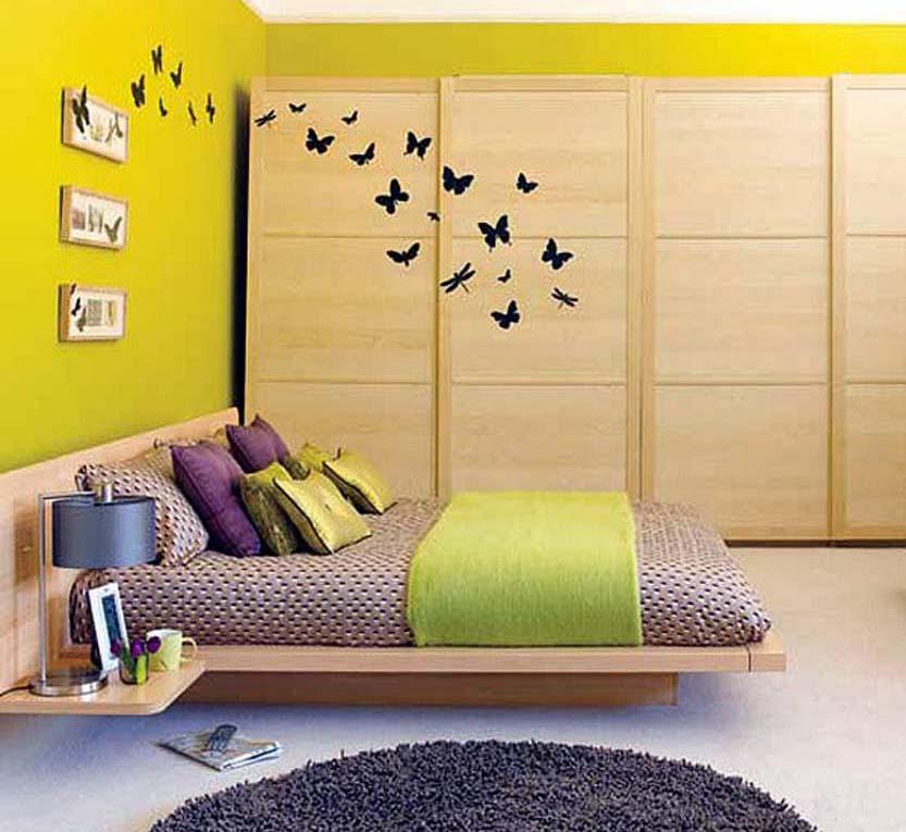 Desain kamar tidur ruang kecil5 » Desain Kamar Tidur Elegan pada Ruangan Kecil