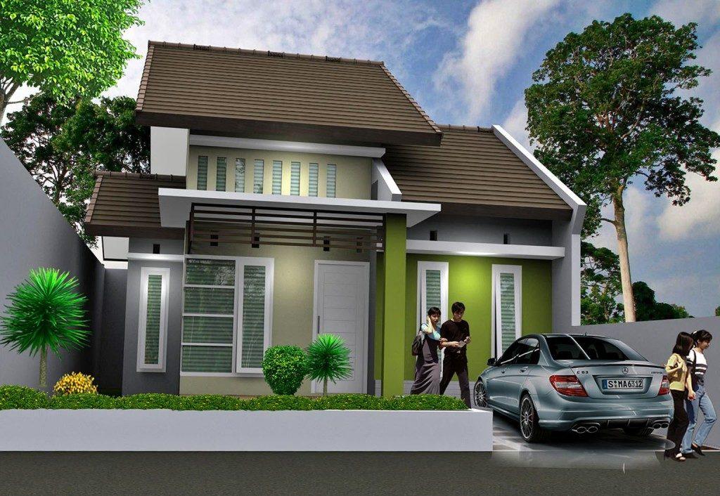 Rumah Minimalis tipe 45 1024x706 » Aneka Model dan Desain Rumah Minimalis