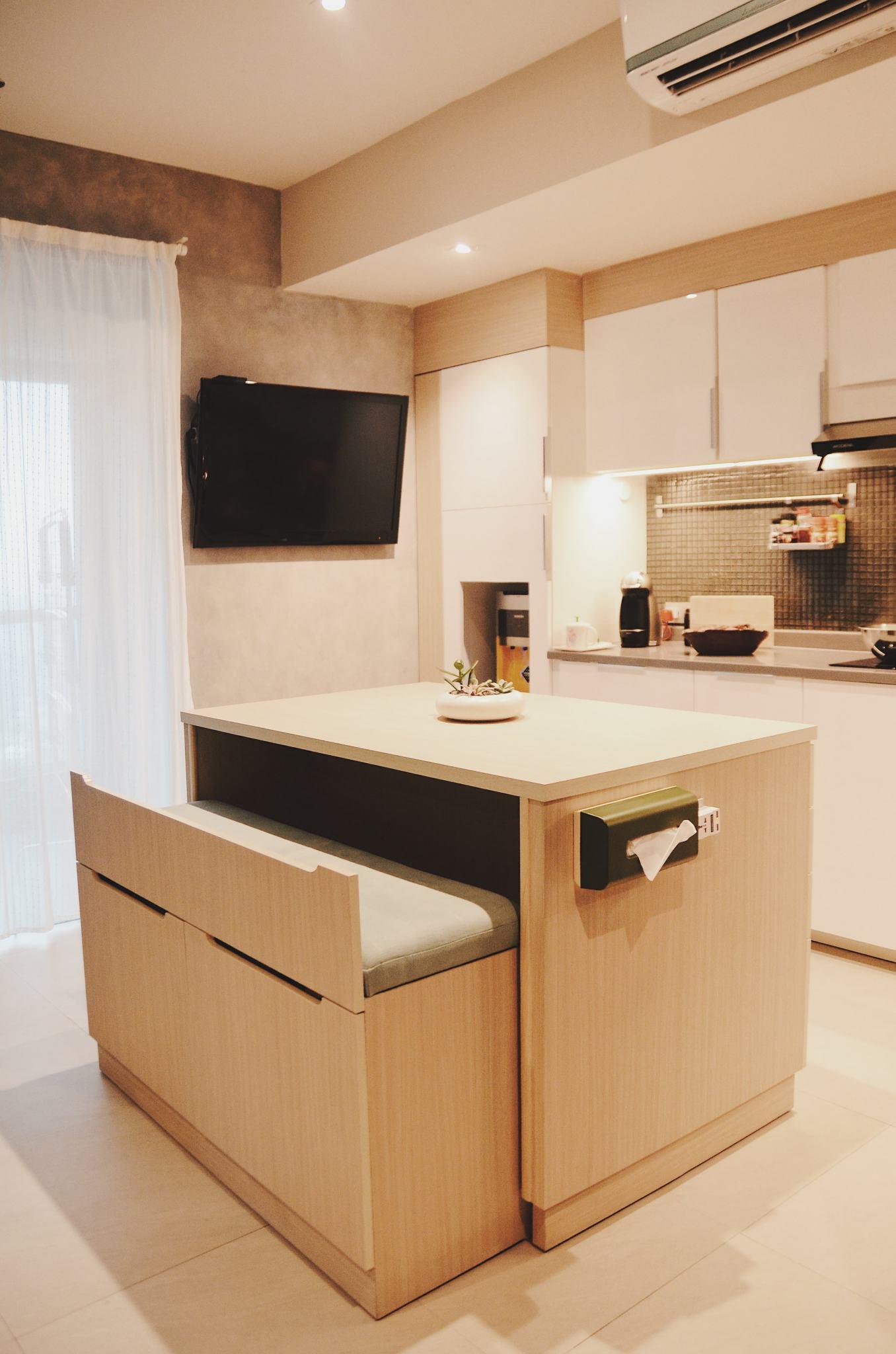 bentuk efektif dan efisien agar dapur terlihat lebih keren » Kegiatan Memasak Menjadi Lebih Menyenangkan di Dapur yang Menggembirakan