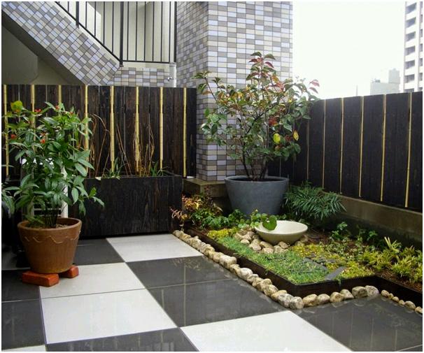 buat lantai keramik pada taman belakang rumah » Kumpulan Ide Kreatif Mendekorasi Taman Belakang Rumah