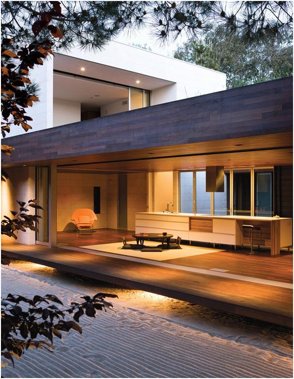desain beranda yang luas pada rumah minimalis modern gaya jepang » Kenali Konsep Desain Rumah Minimalis Modern Bergaya Jepang