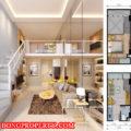 desain denah apartemen 2 bedroom 120x120 » Tips Desain Interior Apartemen Minimalis dan Modern
