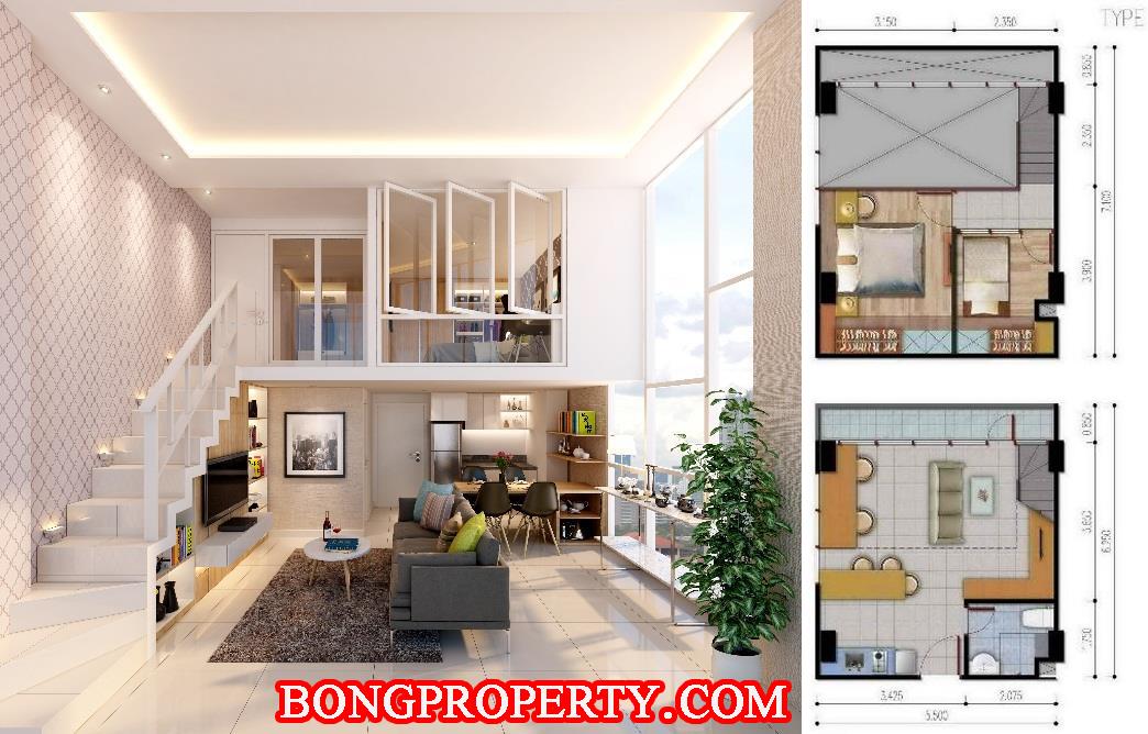 desain denah apartemen modern » Tips Desain Interior Apartemen Minimalis dan Modern