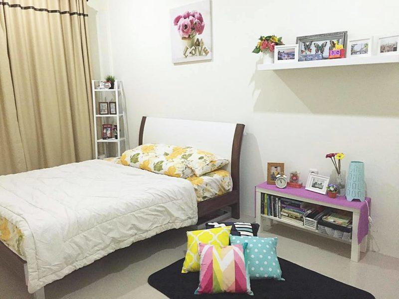 desain kamar tidur ruang kecil2 800x599 - Desain Kamar Tidur Elegan pada Ruangan Kecil