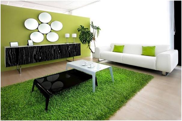 desain karpet dari rumput sintetis » Tips Menghias Rumah Minimalis Dengan Karpet