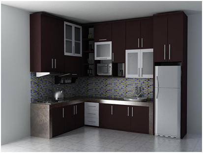 desain kitchen set model letter l » Tips Memilih Model Kitchen Set Berkualitas