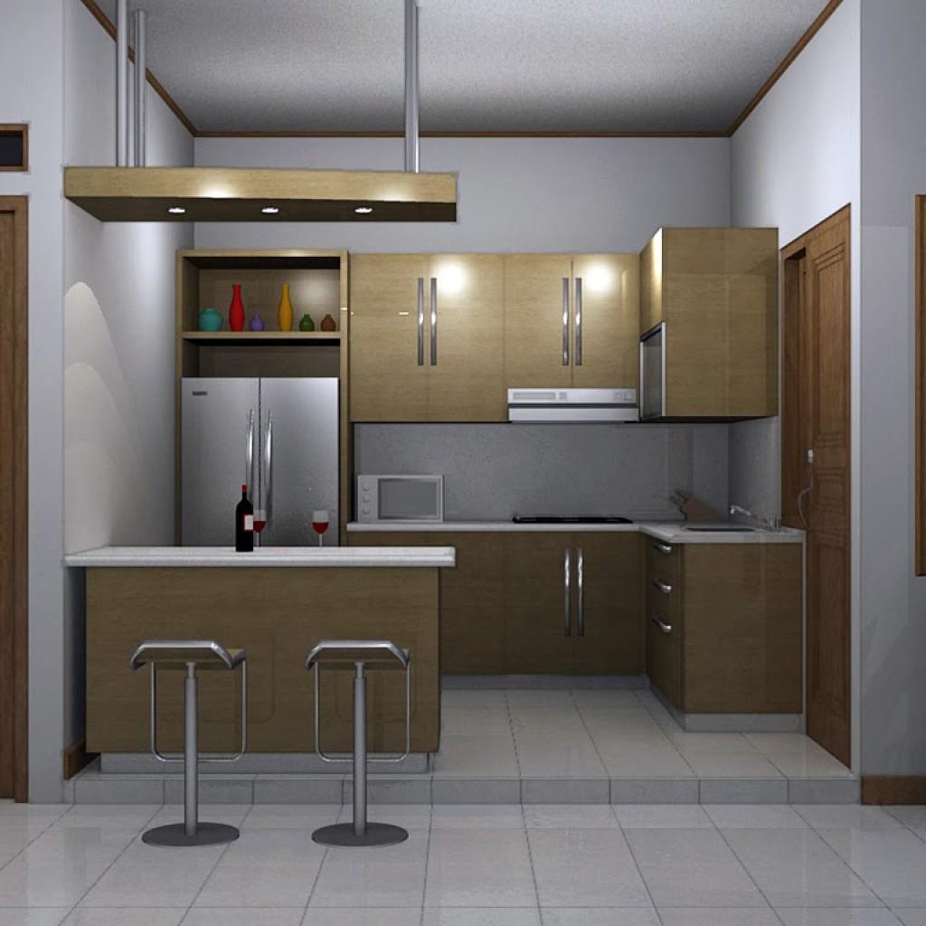 desain minimalis untuk dapur berukuran mungil » Kegiatan Memasak Menjadi Lebih Menyenangkan di Dapur yang Menggembirakan