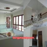 desain plafon rumah tingkat modern 150x150 - Ide Desain Ruang Dapur Mungil untuk Rumah Tingkat 2 Lantai