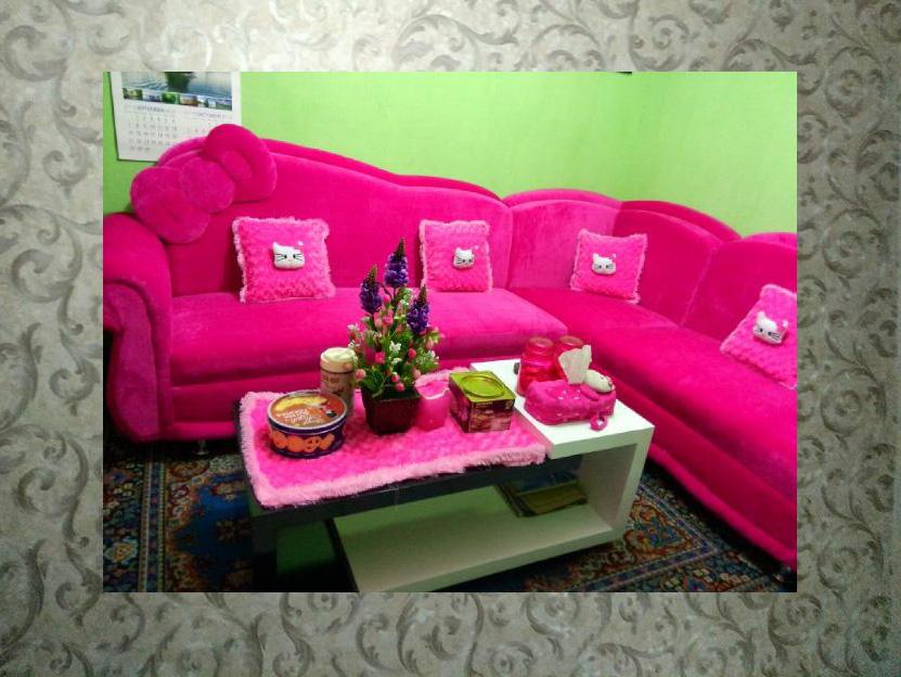 desain ruang tamu motif hello kitty tips mendesain ruang tamu yang lucu