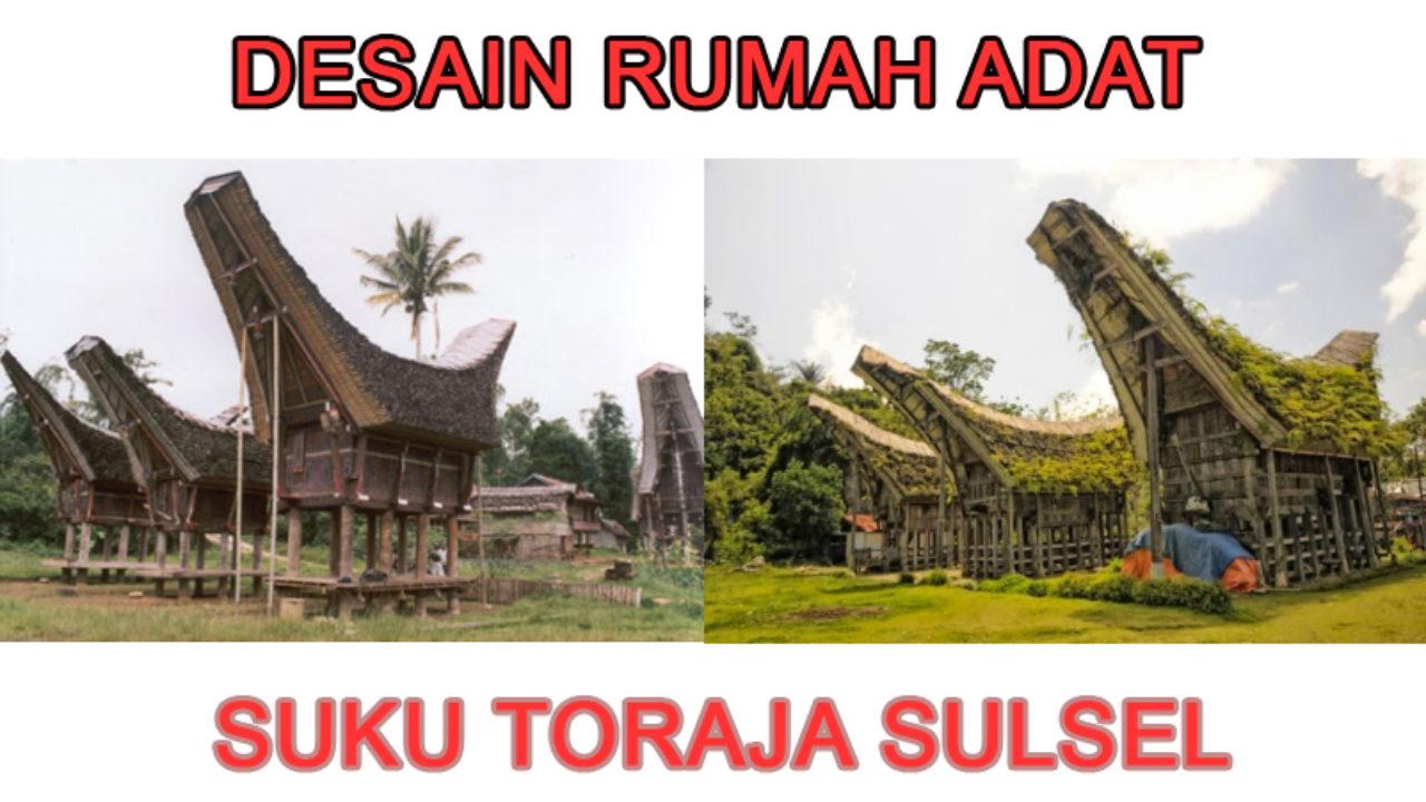 Mengenal Desain Arsitektur Rumah Adat Toraja Bongproperty Com