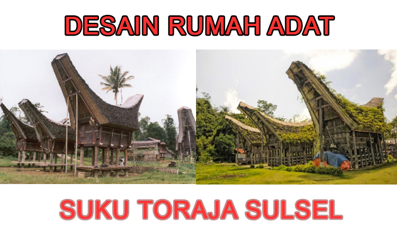 desain rumah adat suku toraja » Mengenal Desain Arsitektur Rumah Adat Toraja