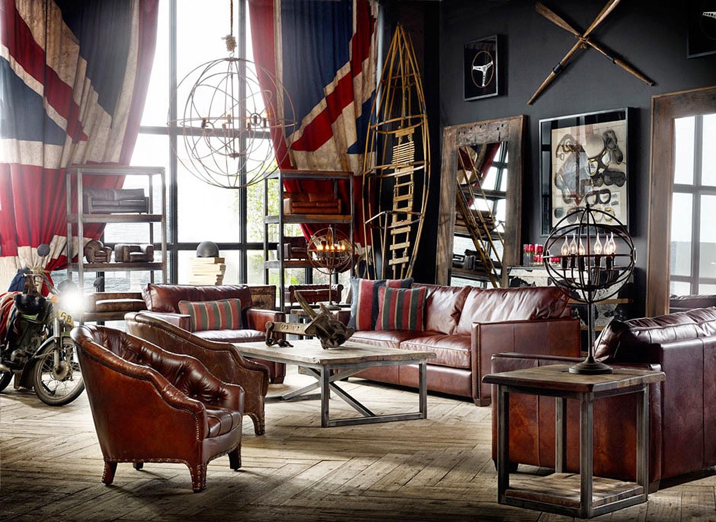 fondasi desain vintage » Ciptakan Kesan Klasik dan Elegan dengan Desain Interior Rumah Bergaya Vintage