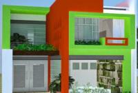 Warna Cat Rumah Minimalis Tampak Depan 2019