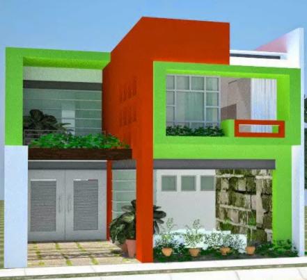 g392 » Syarat Warna Cat Rumah Minimalis Tampak Depan 2019