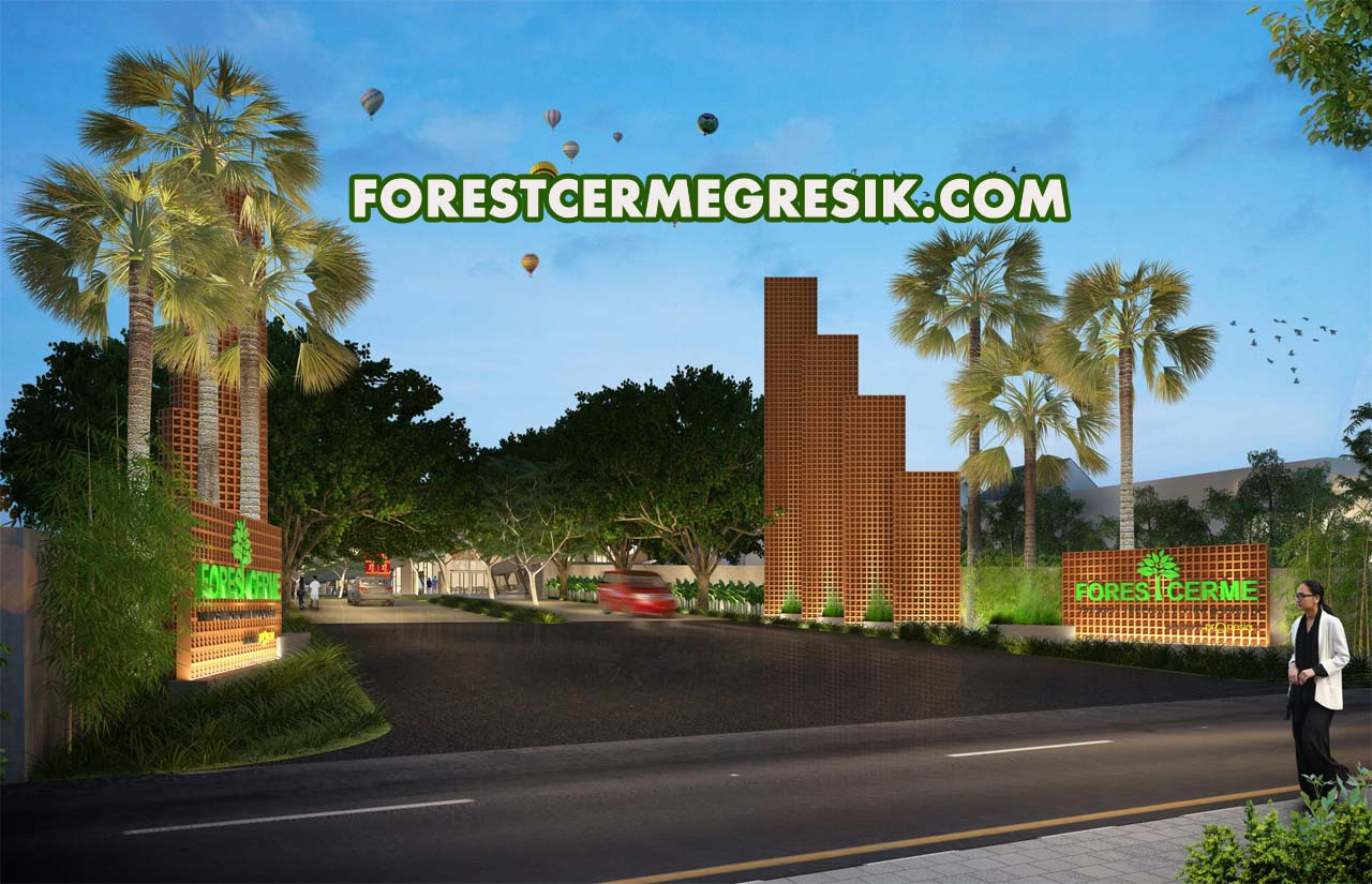 ilustrasi gerbang perumahan properti developer » Panduan Lengkap Bisnis Properti Developer