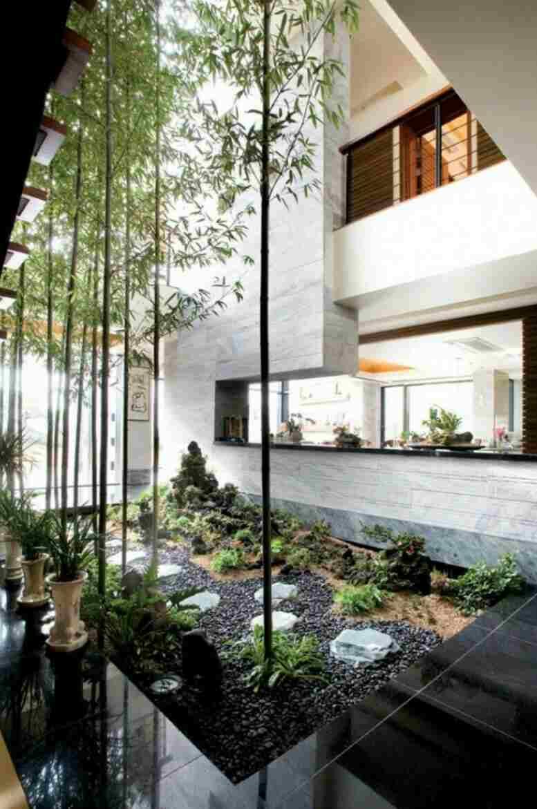 jika hanya digunakan sebagai ruang terbuka tidak mengapa jika ukuran taman hanya seperlunya » Inspirasi Desain Taman yang Akan Membuat Hati dan Pikiran Nyaman