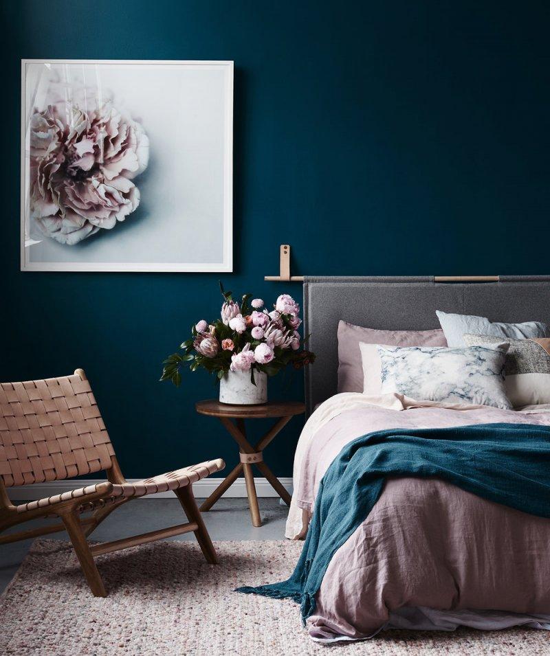 kamar tidur tema bunga boleh juga » Ini 18 Ide Menarik Desain Kamar Tidur yang Membuat Anda Mudah Terlelap