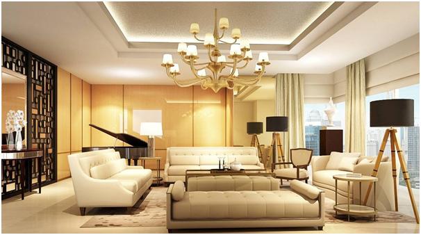 lampu hias untuk desain interior ruang tamu mewah » Tips Desain Interior Ruang Tamu Untuk Rumah Super Mewah