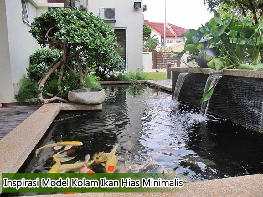 model desain kolam ikan hias minimalis » Inspirasi Model Desain Kolam Ikan Minimalis