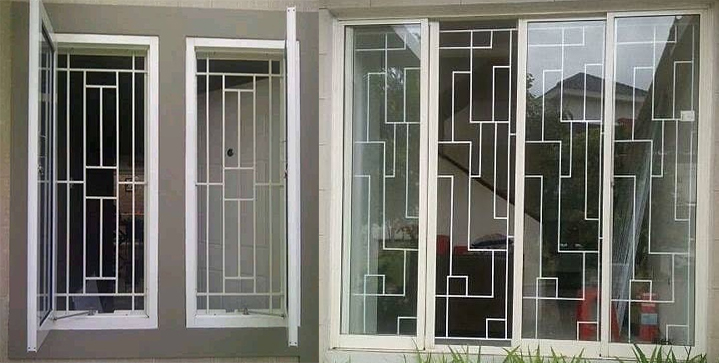 model desain teralis jendela » Ini 3 Model Teralis untuk Jendela Rumah Minimalis