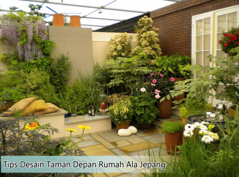 model taman halaman depan rumah ala jepang 800x592 - Tips Desain Taman Depan Rumah Gaya Jepang