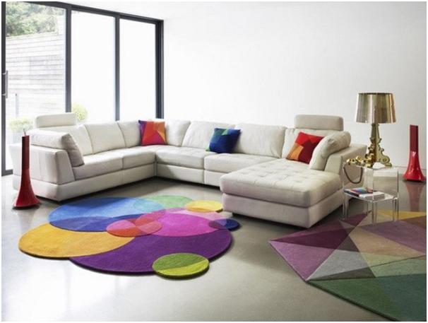 motif karpet warna warni untuk ruang tamu » Tips Menghias Rumah Minimalis Dengan Karpet