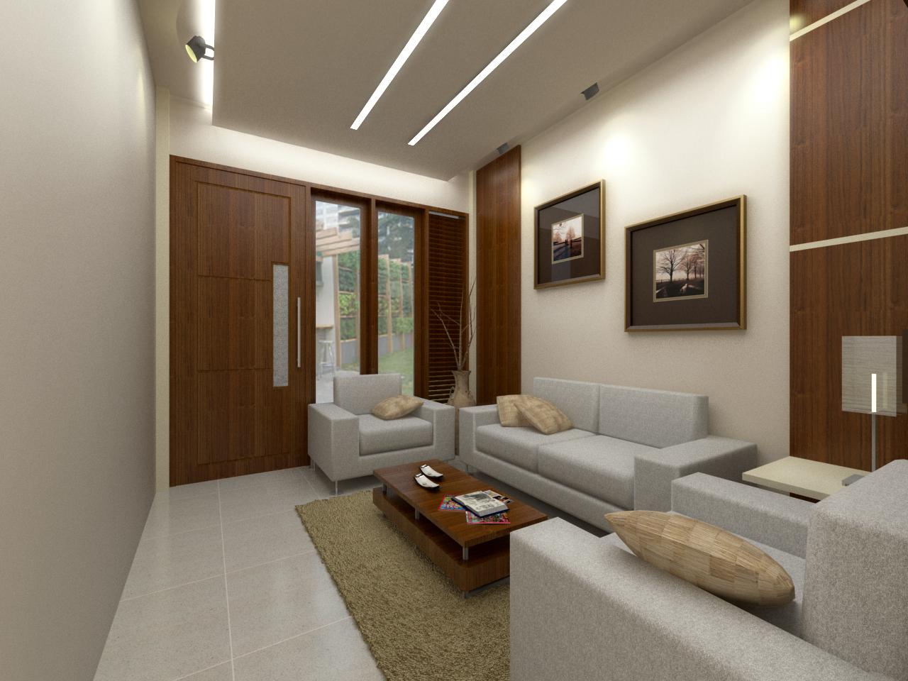 padu padan warna cokelat dan abu abu untuk rumah indahmu » Inilah 15 Desain Ruang Tamu yang Membuat Semuanya Lupa Waktu