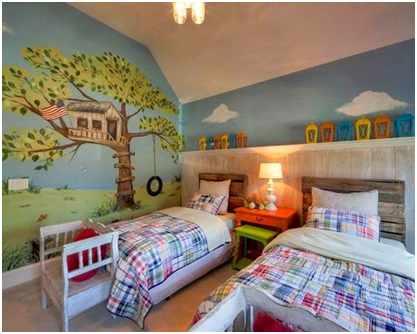pemilihan perabotan kamar tidur anak pada rumah minimalis » Tips Desain Kamar Tidur Anak Ceria pada Rumah Minimalis
