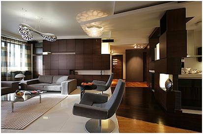 penggunaan perabotan untuk interior apartemen cantik berkelas » Panduan Desain Interior Apartemen Cantik dan Berkelas