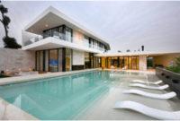 rumah mewah kontemporer 2 lt dengan kolam renang 200x135 » Pilihan Desain Rumah Mewah 2 Lantai dengan Kolam Renang