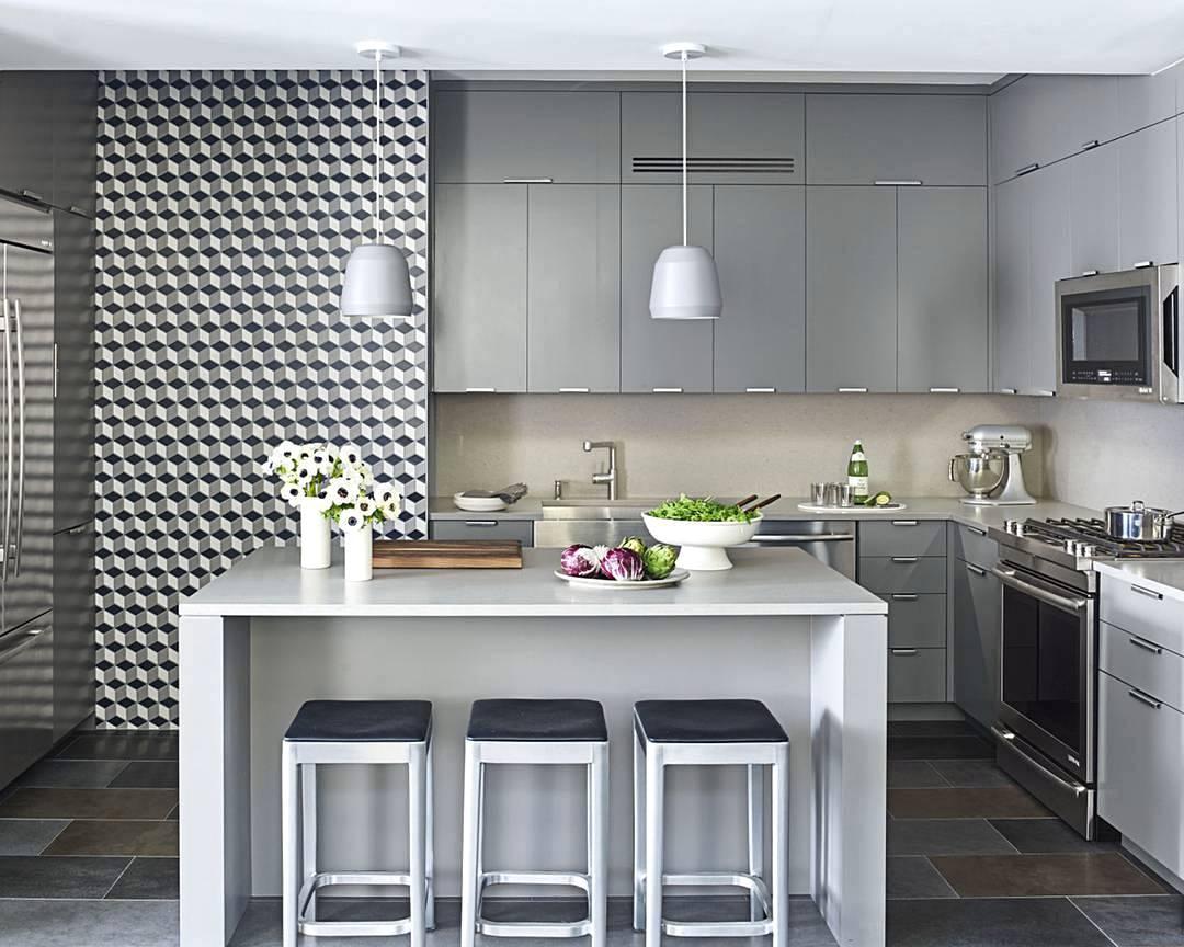tampil minimalis dengan warna silver yang manis » Kegiatan Memasak Menjadi Lebih Menyenangkan di Dapur yang Menggembirakan