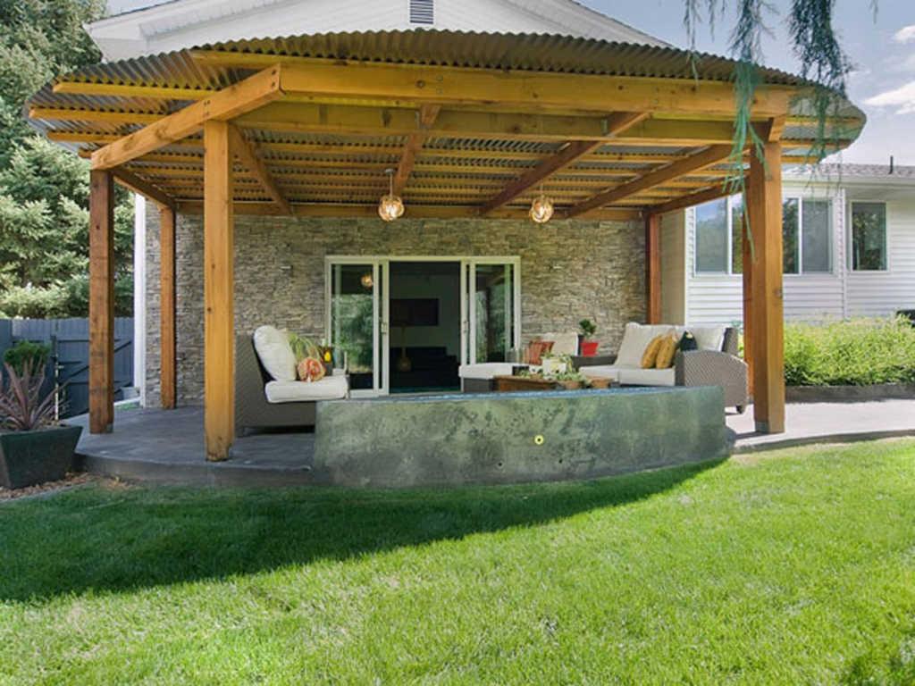teras rumah konsep tradisional » 10 Inspirasi Model Teras Rumah Minimalis Simpel Nan Berkelas Terbaru 2018