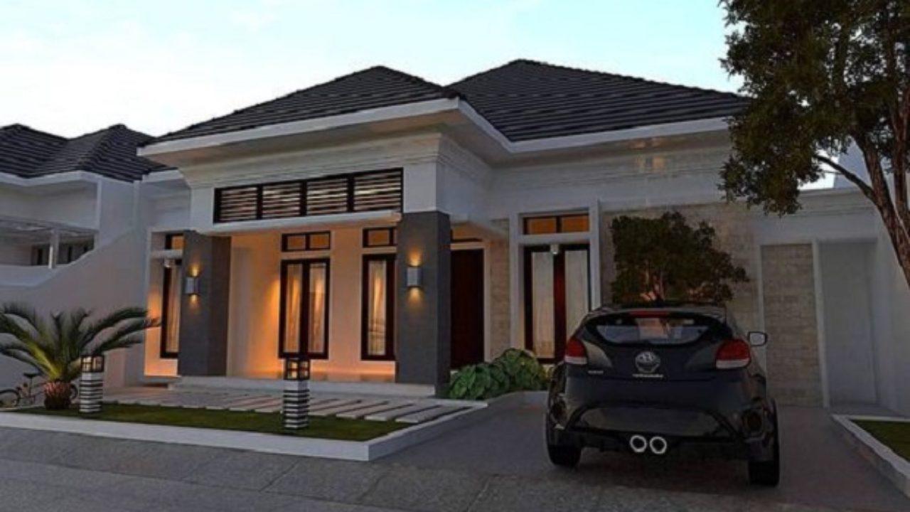 Desain Minimalis Rumah Mewah 1 Lantai Bongproperty Com