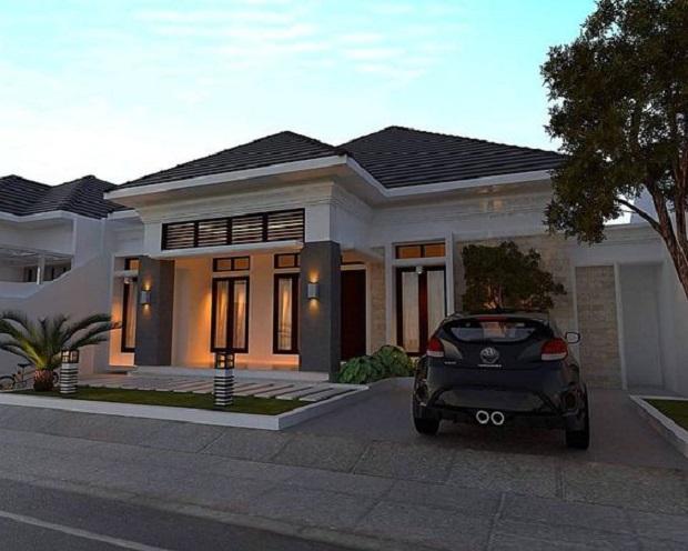 tips desain minimalis rumah mewah 1 lantai » Desain Minimalis Rumah Mewah 1 Lantai