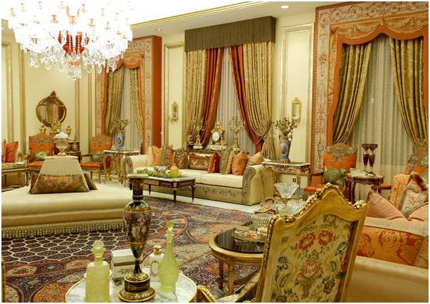 tirai ukuran besar untuk desain interior ruang tamu mewah » Tips Desain Interior Ruang Tamu Untuk Rumah Super Mewah