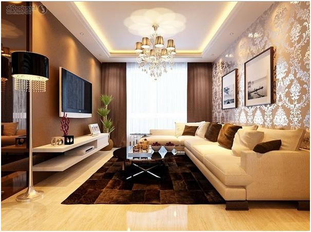 wallpaper dinding untuk desain interior ruang tamu mewah » Tips Desain Interior Ruang Tamu Untuk Rumah Super Mewah