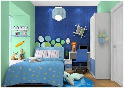 warna interior kamar tidur anak pada rumah minimalis » Tips Desain Kamar Tidur Anak Ceria pada Rumah Minimalis